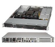 SUPERMICRO SuperServer 6017R-WRF,  black, kompletteras CPU/ RAM/ HDD m.m.