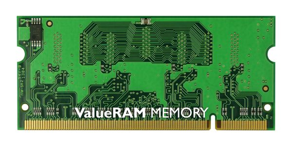 Memory/ 1GB 800MHz DDR2Non-ECC CL5 SODIMMOBS! Allokeringsartikel,  bristvara,  pris kan ändras dagligen! -- Kingston ValueRAM - Minne - 1 GB - SO DIMM 200-pin - DDR II - 667 MHz / PC2-5300 - CL 5 - icke