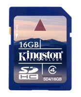 Minneskort Kingston SD 16GB
