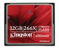 KINGSTON ULTIMATE COMPACTFLASH 266X W/ RECOVERY S/
