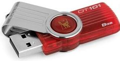 KINGSTON Data Traveler 101/8GB USB 2.0 Gen2 Red