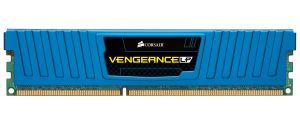 Vengeance Dual C DDR3 4GB, 1600MHz, 2x2GB, LP Blue