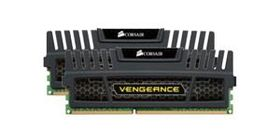 Vengeance™ DDR3 1600MHz 8GB CL8 Kit w/2x 4GB XMS3 modules, CL8-8-8-24,  1.5V, Vengeance Heatspreader,  240 pin
