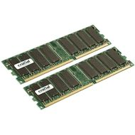 CRUCIAL 1GB 2X512MB PC3200 DDR 184PIN DIMM NON-ECC UNBUFF                 (110014)
