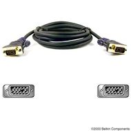 VGA MONITOR REPL CABLE HDDB15 M TO M 15 MTRS GOLD UK
