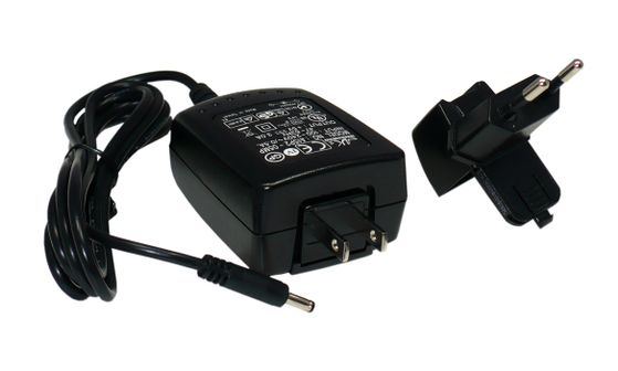 MEMOR POWER SUPPLY DIRECTLY OR THROUGH THE CRADLE
