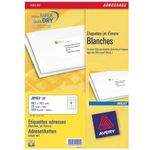 AVERY White Adressing Labels For Inkjet 99.1x38.1mm 14 Labels/ Sheets **25-pack** (J8163-25)