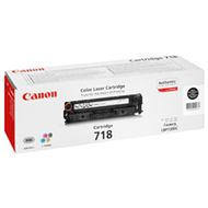 CANON 718 Black - Toner cartridge - 1 x black - 34 (2662B002AA)