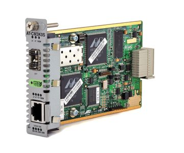 ALLIED TELESYN Media Blade 10/ 100/ 1000TX to SFP, with 802.3ah OAM Support ECO FRIENDLY (AT-CM3K0S)