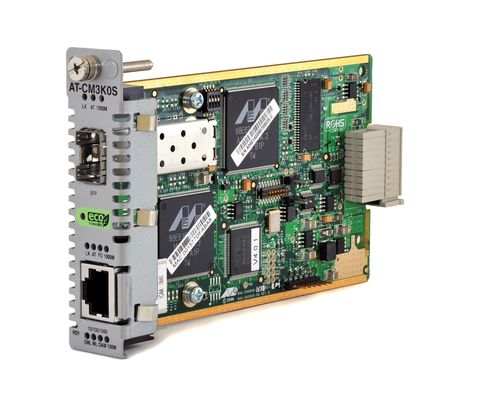 Media Blade 10/ 100/ 1000TX to SFP, with 802.3ah OAM Support ECO FRIENDLY