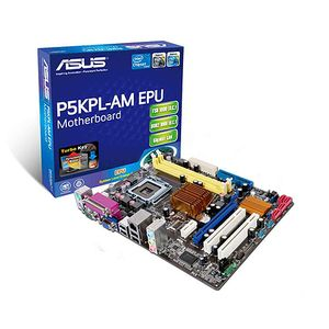 ASUS MB P5KPL-AM EPU CORE2QUAD G31 FSB1600 SOCKET775 PCIE UATX RETAIL (P5KPL-AM EPU)
