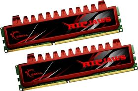 4GB DDR3 PC3-12800 1600MHz Ripjaw Series (9-9-9-24) Dual Channel kit for Intel P55