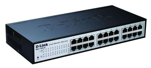 D-LINK 24-Port Layer2 EasySmart Switch (DES-1100-24)