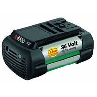 batteri 36 V/2,6 Ah Li-ion batteri High-Power Lithium-ion-batteri. Passer til Rotak-gressklippere.