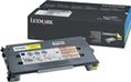 LEXMARK TONER CARTRIDGE YELLOW 1.5K PGS F/ C500 NS