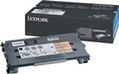 LEXMARK TONER CARTRIDGE BLACK 2.5K PGS F/ C500 NS