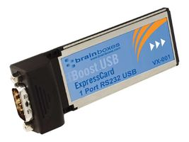 Brainboxes VX-001 - Seriell adapter - ExpressCard/ 34 - RS-232