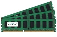 MEMORY CT3KIT25664BA1339 6GB KIT (2GBX3) DDR3-1333 UNBUFFERED NON-ECC
