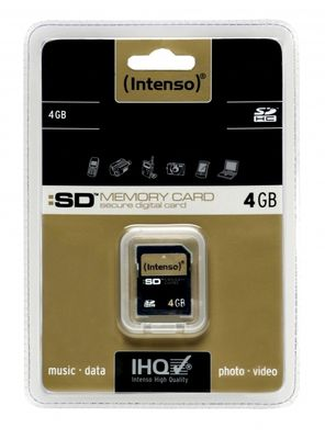 SD Intenso Secure Digital Card