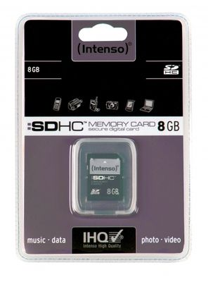 SD SD-Card SDHC Intenso 8192MB
