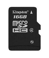 KINGSTON 16GB microSDHC Class 4 SP (SDC4/16GBSP)