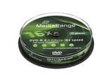 MediaRange DVD-R 4,7GB 10pcs Spindel 16x (MR452)