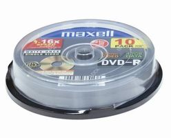 DVD-R 4.7GB 8X 10ER SPINDEL NS