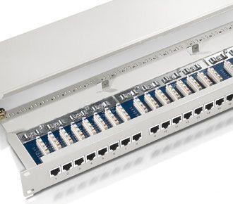 EQUIP Patchpanel equip 24Port RJ45, (327324)