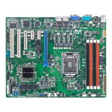 Mainboard S-1155 Intel C202 for Xeon E3-1200 & i3-2100-series 2xGbLAN SATA3 Raid 4xDDR3 ECC(Max32GB)