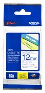 BROTHER P-TOUCH TAPE 12MM BLUE/ WHITE (TZ-233)
