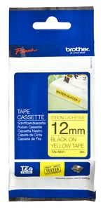 BROTHER Tape/ black-yellow 12mm f 3xx 5xx (TZES631)