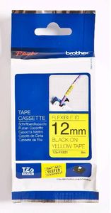 BROTHER Tape/12mm black on yellow f P-Touch (TZEFX631)