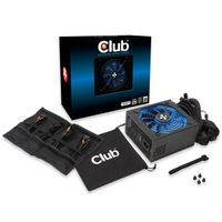 CLUB 3D 1200W 80+ Silver 135mm modular (CSP-X1200CS)