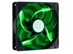 Case Fan 120mm Green LED Fan (Rifle Bearing) 2000rpm
