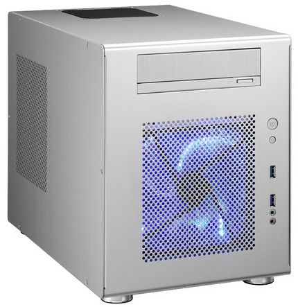 Kab Lian Li PC-Q08A alu mini-ITX no PSU silver