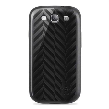 Grip Weave for Samsung Galaxy S III, Metallic black