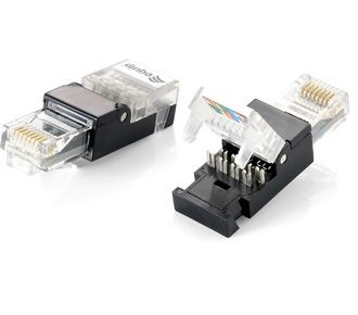 RJ45 CONNECTOR UTP CAT.5E TOOLFREE ASSEMBLY SET OF 2PCS CABL