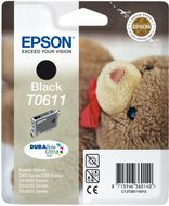 EPSON TO611 BLACK INK 250PGS RF (C13T06114020)