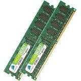 CORSAIR Value S. PC5300 DDR2 4096MB Kit w/two matched Value Select 2048MB (VS4GBKIT667D2)