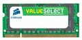 CORSAIR DDR3 PC1066 2GB CL9.0 SO Dimm