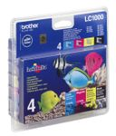 BROTHER LC1000 Value Pack - 4-pack
