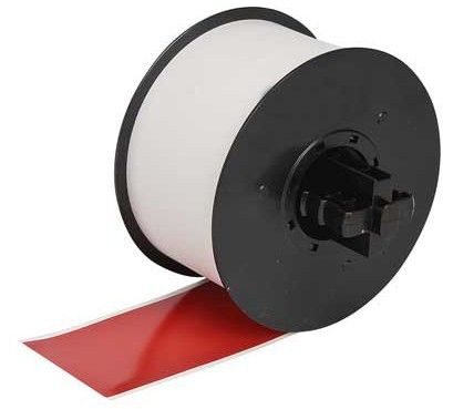 RC-T1RNA TAPE RED 100MM X 15M                      IN SUPL