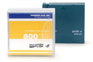 TANDBERG LTO-4 LIBRARY PACK WITH BARCODE LABELS CONTAINS 20X LTO-4 CARTR SUPL (433950)