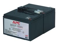 APC REPLACABLE BATTERY CARTRIDGE FOR BACKUPS 1000 IN (RBC6)