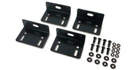 BOLT DOWN BRACKET KIT 4 SETS - BLACK NS