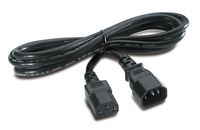 POWER CORD IEC 320 C13 TO IEC 320 C14 IN