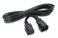 APC POWER CORD IEC 320 C13 TO IEC 320 C14 IN