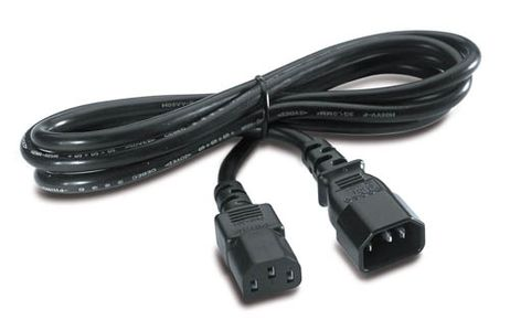 APC POWER CORD IEC 320 C13 TO IEC 320 C14 IN (AP9870)