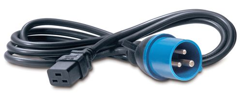 APC POWER CORD IEC 320 C19 TO IEC 309 IN (AP9876)