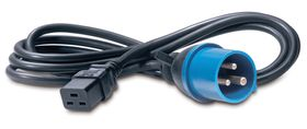 POWER CORD IEC 320 C19 TO IEC 309 IN